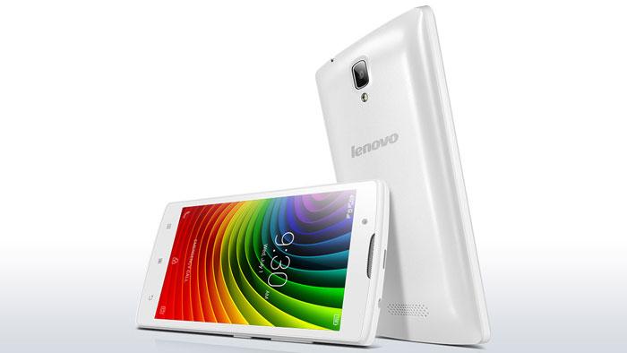 Lenovo-A2010-Putih-Depan-Belakang
