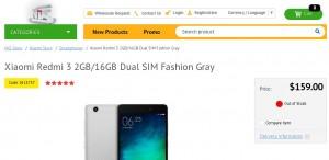 Harga dolar Xiaomi Redmi 3
