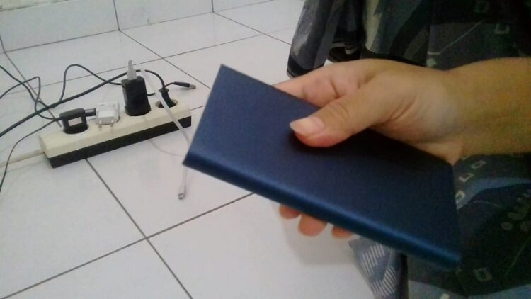 Power Bank 10.000 mAh Original Xiaomi Biru