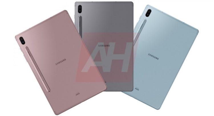 pilihan warna Samsung Galaxy Tab S6