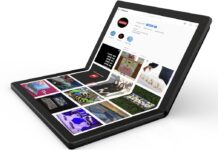 Laptop layar lipat Lenovo foldable thinkpad x1