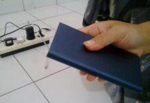 Power Bank 10.000 mAh Original Xiaomi Biru