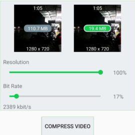 Compress ngecilin ukuran video tanpa nurunin resolusi