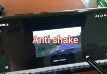 Cara stabilin video goyang 3